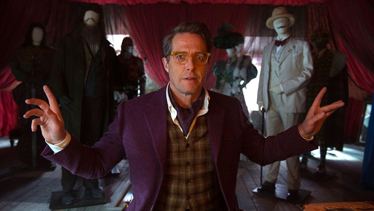 Hugh Grant as Phoenix Buchanan in 'Paddington 2'. (Credit: Studiocanal)