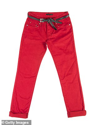 Next year I plan to buy some bright red trousers, just to see what the effect is