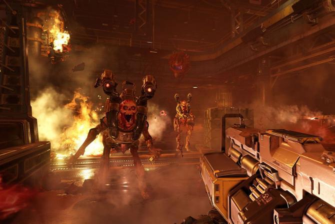 Best Video Games of 2010s - DOOM