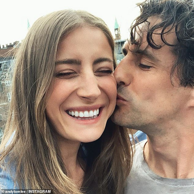 Cute! The pair met in 2015 at a Melbourne cafe where Rebecca was working as a waitress