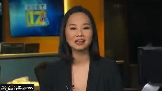 TV blast: 'I'm just glad that we were there,' Karen told local TV reporter Karen Hua of KGET Bakersfield. 'Nobody should have to sleep in their car when it's 30F outside'