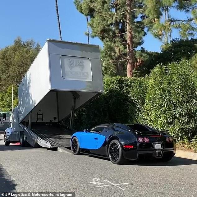 Luxury: The Bugatti retailed for a shocking$1.5million