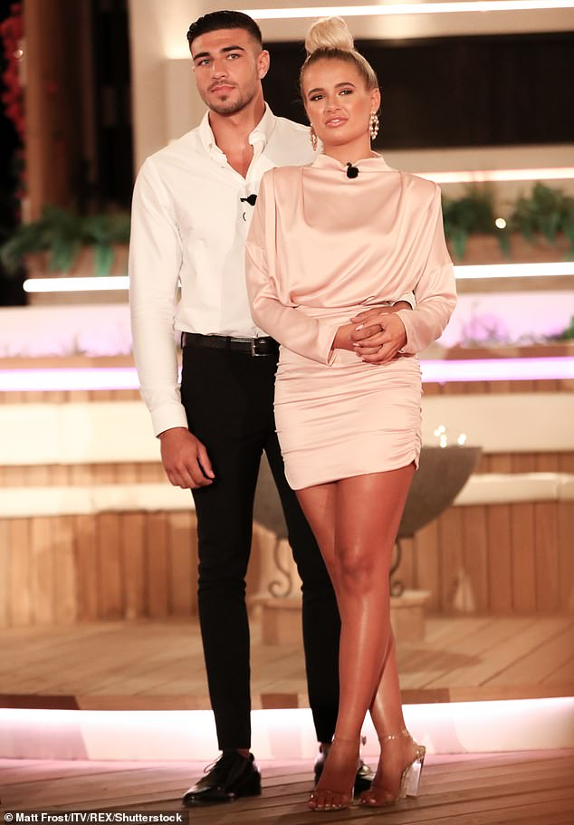 Smitten: She recently discussed her relationship with boyfriend Tommy Fury, gushing she wants to marry the boxer, 20 (pictured in July)