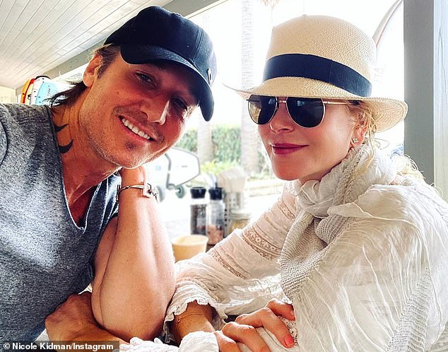 On holiday: Amid her busy schedule, she recently took to her Instagram Story as she enjoyed a relaxing holiday in Sydney with husband Keith Urban
