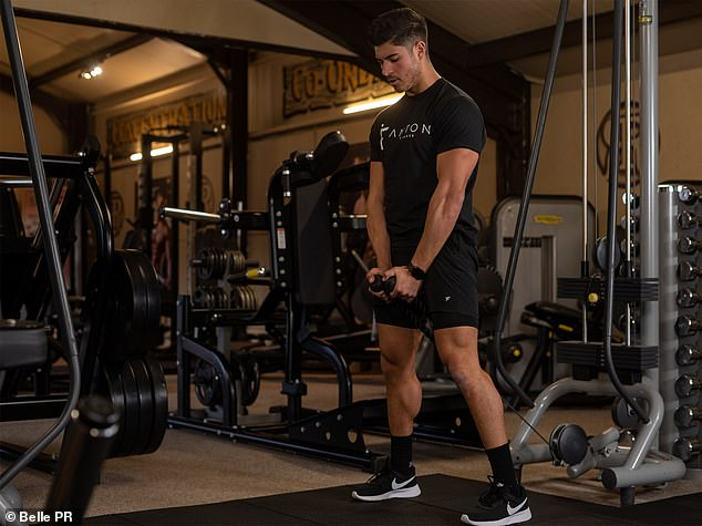 Interactive:Users will also be able to converse with Anton and his team of fitness experts while sharing progress pictures and updates as they continue their individual journeys