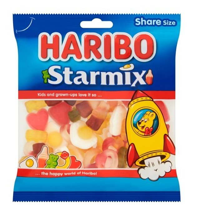 Swedish researchers were surprised to find eating the equivalent of 450g of sweets every day for a week enhanced men's sperm quality. That's the equivalent of two-and-a-half packs of Haribo Starmix (190g)