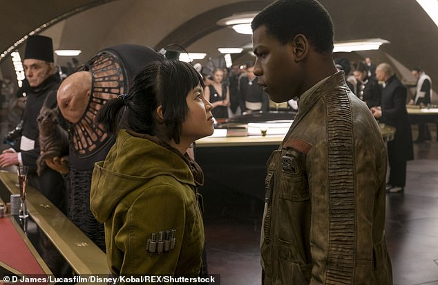 Not photoreal:'As the process evolved, a few scenes we'd written with Rose and Leia turned out to not meet the standard of photorealism that we'd hoped for,' Terrio said