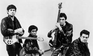 The Rutles in 1978. From left: Neil Innes, Ricky Fataar, Eric Idle and John Halsey.