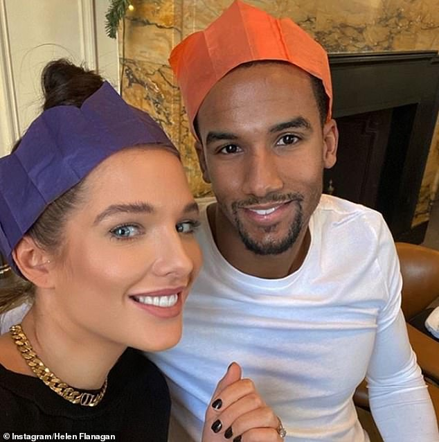 Happy: Helen shares her two daughters with her long-term love, footballer Scott Sinclair