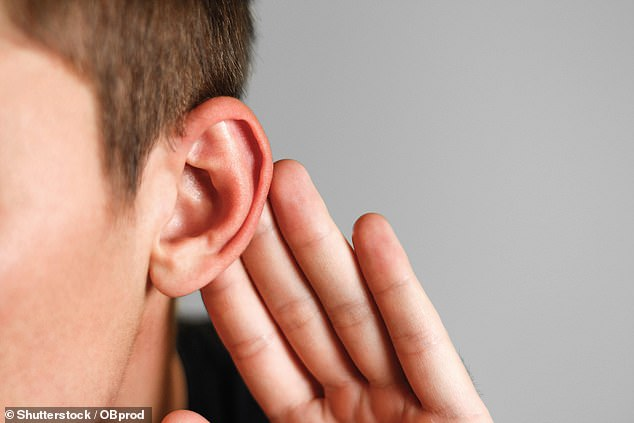 The middle-ear bone and cochlea could be replaced completely with an implant that improves hearing and give soldiers supersonic hearing(stock image)