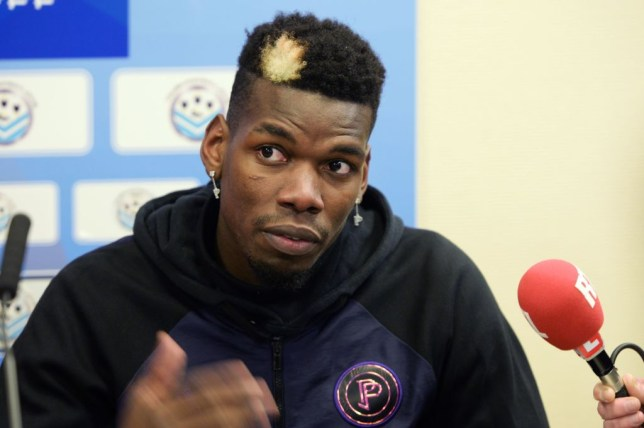 Paul Pogba is in line to start for Manchester United against Arsenal in the Premier League