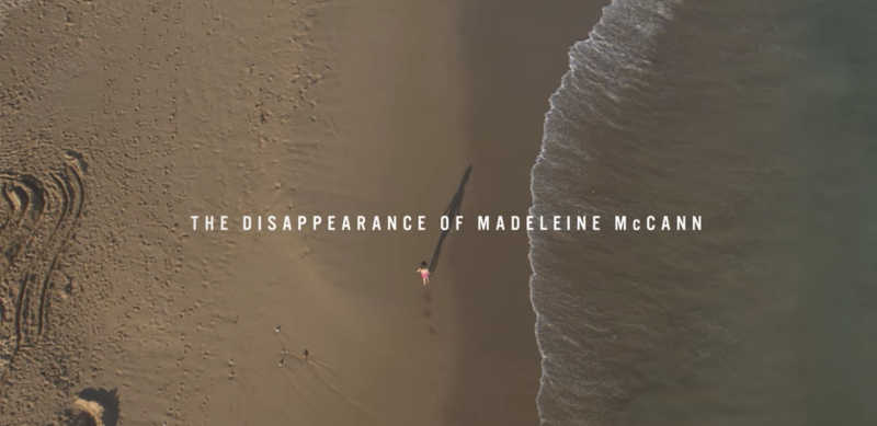 The Disappearance of Madeleine McCann was the most popular on Netflix UK. (Netflix)