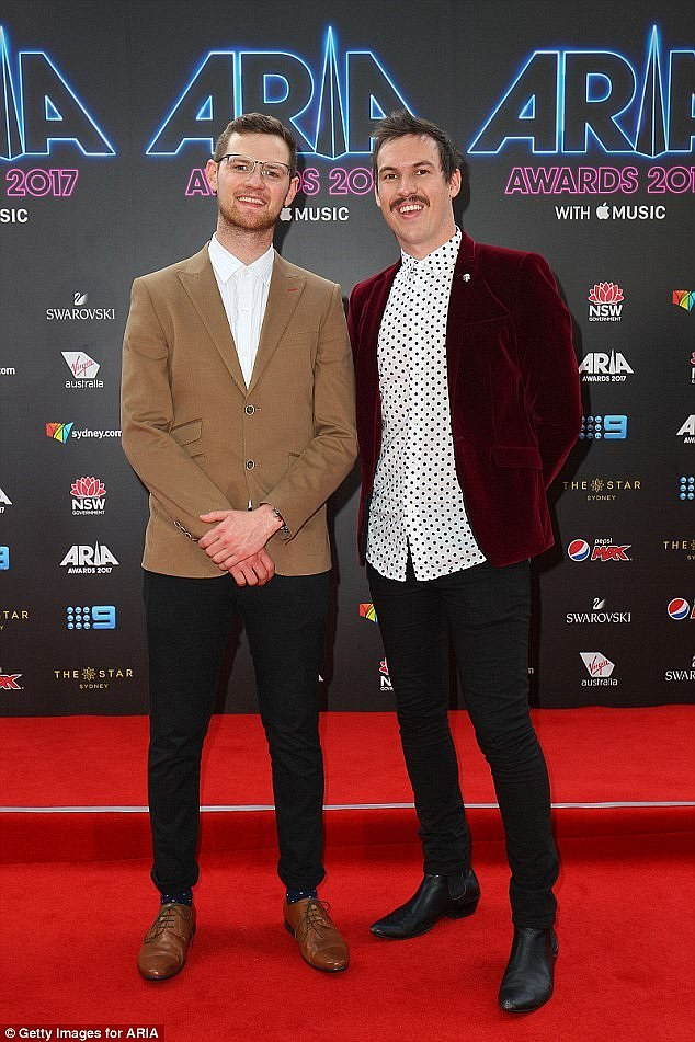 Going commercial: Former Triple J Breakfast hosts Ben Harvey and Liam Stapleton have revealed why they quit the national youth station for Nova FM in Adelaide