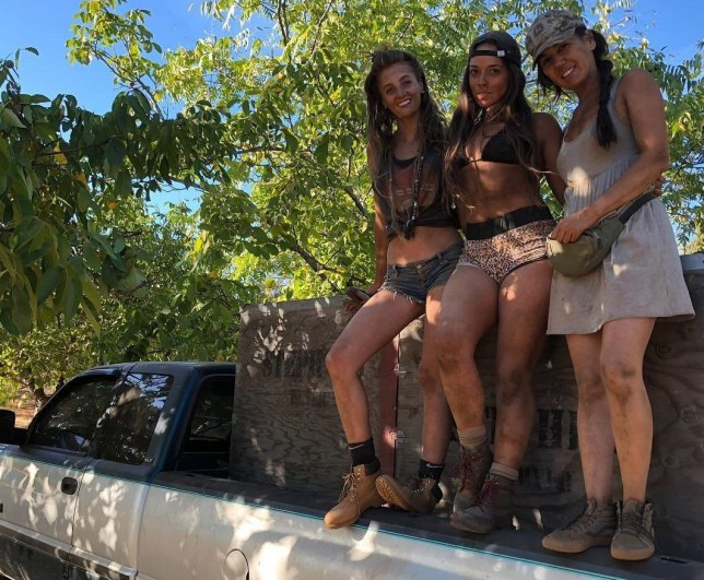 The Girls off grid