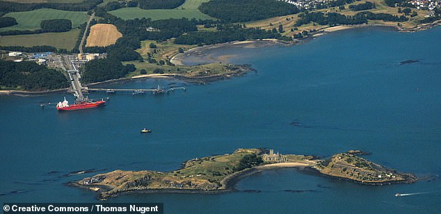 Earlier this year a colony of black rats was discovered on the Forth's Inchcolm Island, pictured, which draws thousands of tourists every year to visit its 12th-century Augustinian abbey