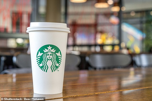 A Starbucks Americano Venti, the largest cup size, contains 320mg of caffeine compared to 80mg in a 250ml can of Red Bull