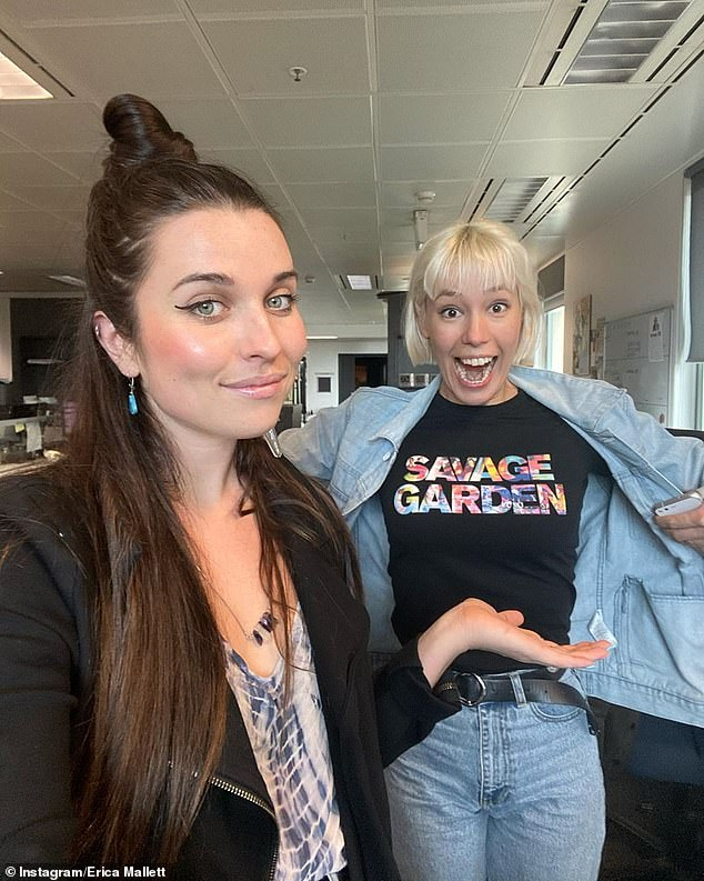 Meet your replacements! They have since been replaced on Triple J Breakfast by Sally Coleman and Erica Mallett of hip hop duo Coda Conduct