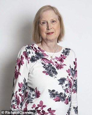 Carol Belding, 64, a secretary from Basingstoke, Hampshire