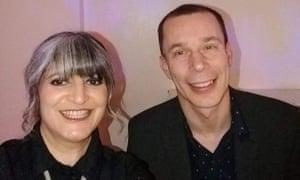 Zakyeya Atcha and her ex-husband.