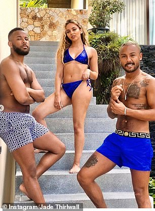 Blue Monday: The Little Mix singer enjoyed a much deserved holiday after a very busy 2019 as she toured Europe with Little Mix and appeared on RuPaul's Drag Race UK as a guest judge