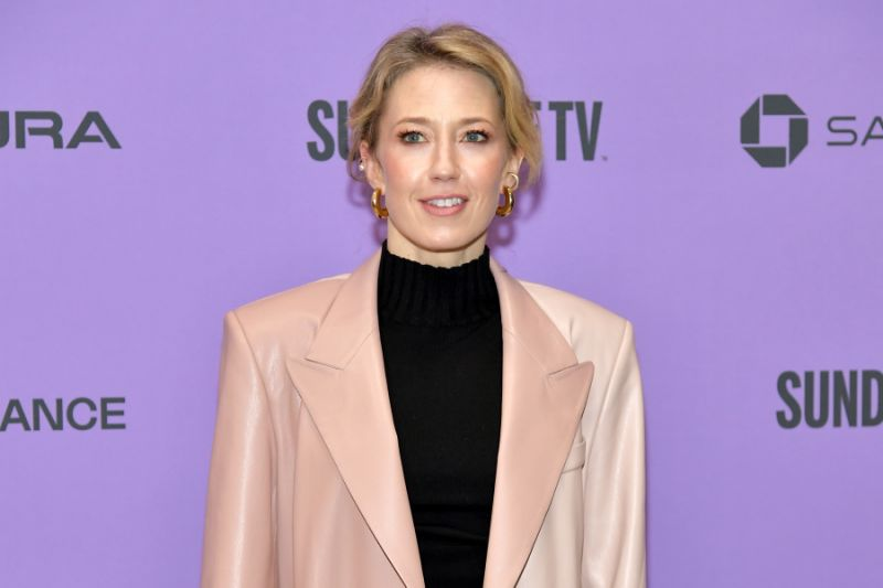 """PARK CITY, UTAH - JANUARY 26: Carrie Coon attends the 2020 Sundance Film Festival - """"The Nest"""" Premiere at Eccles Center Theatre on January 26, 2020 in Park City, Utah. (Photo by Neilson Barnard/Getty Images)"""
