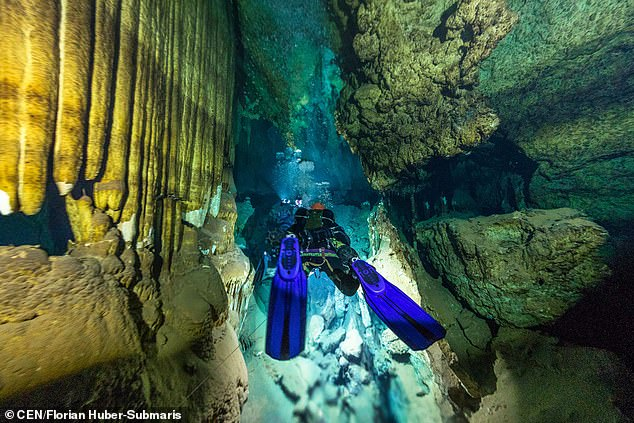Experts from the so-called 'Underwater Archaeological Research in the Caves of Mallorca' Project are re-exploring the caves using the latest technology