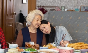 Awkwafina (right) in The Farewell.