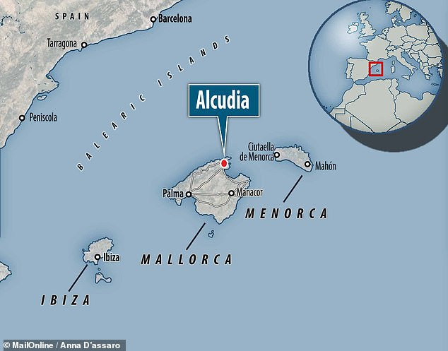 The artefacts were found in the Fuente de Ses Aiguades cave, which lies in the bay of Alcudia on the northeastern coast of Majorca, in the Spanish Balearic Islands