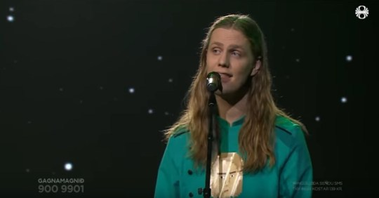 Dadi wins Iceland Eurovision selection https://www.youtube.com/watch?v=F5pEtZGon9I No permission Picture: R?V