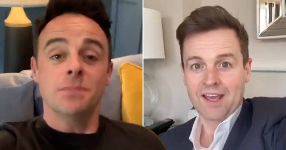 Inside Ant and Dec's homes as they host SNT from sofas Pics: Instagram