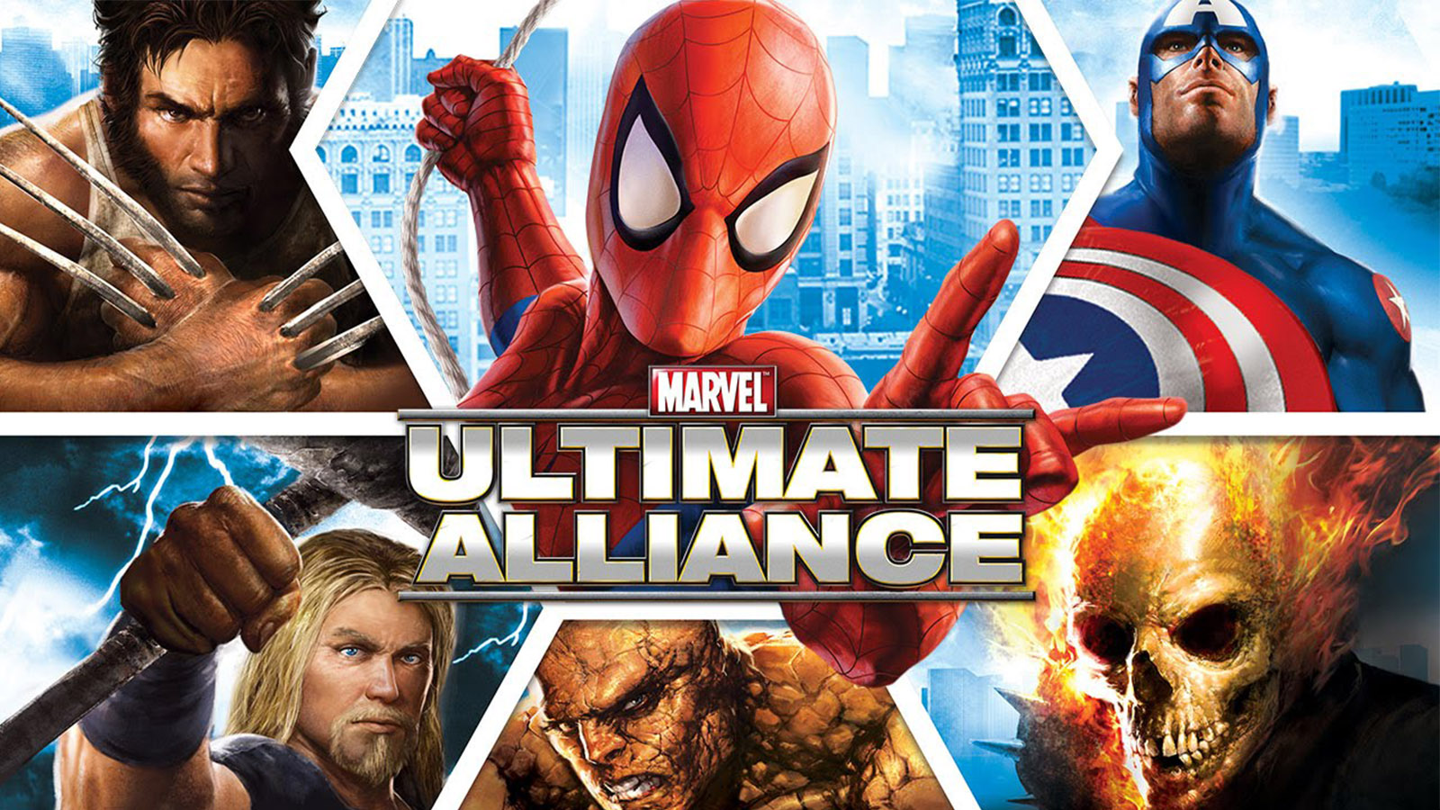 Marvel: Ultimate Alliance was originally released for PS2 and Xbox.