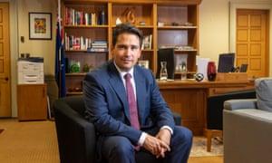New Zealand National Party leader Simon Bridges.
