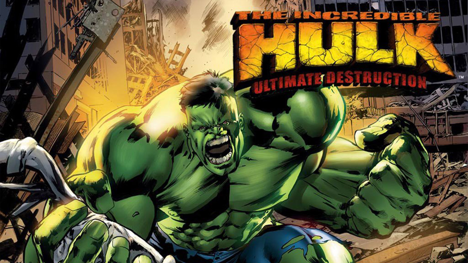 The Incredible Hulk: Ultimate Destruction was originally released for PS2, Xbox and GameCube.