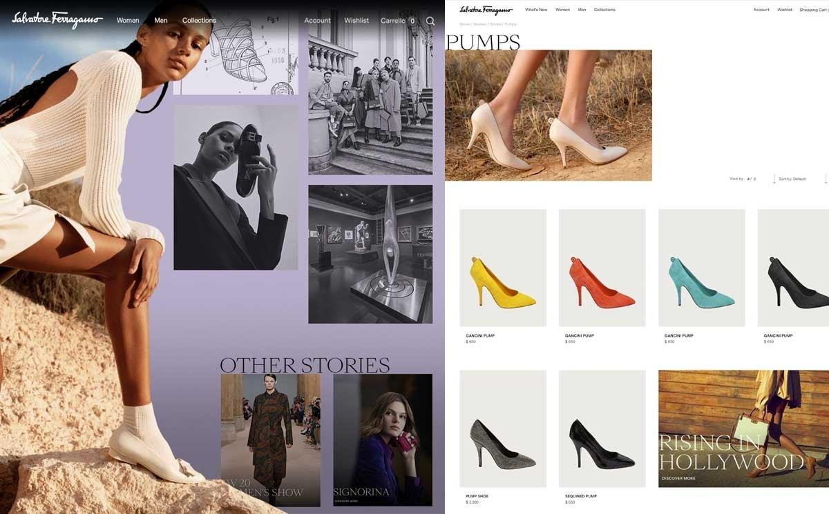Salvatore Ferragamo launches new online boutique