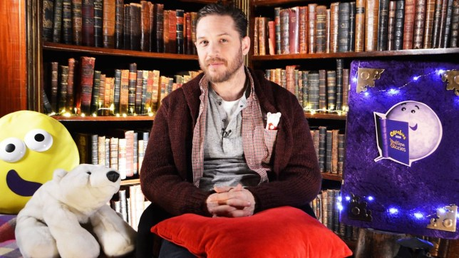 Tom Hardy - Ep 583. There's a Bear on My Chair (Picture: BBC)