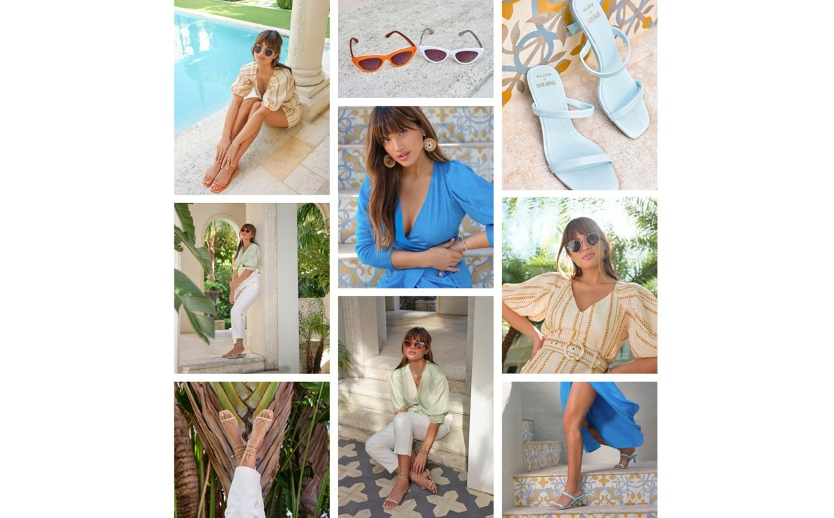 Introducing the ALDO x Rocky Barnes Endless Summer Collection