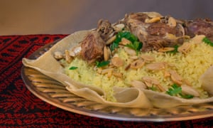 'It is a very rich dish' … mansaf.