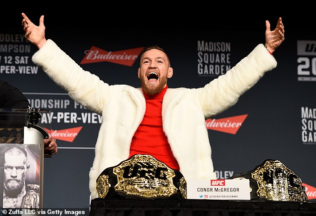 Down Under: Conor McGregor is now a favourite to go down under and appear on the next series of I'm A Celebrity following his retirement announcement