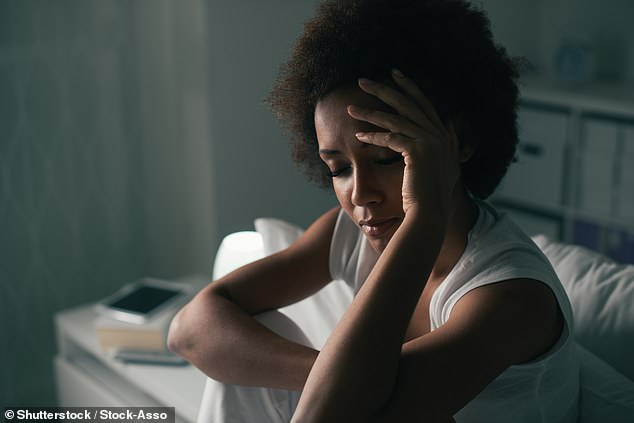 The coronavirus lockdown has provided people with a regular sleep schedule filled with more hours in bed than normal. Seventy-five per cent of those surveyed reported sleeping up to 15 minutes longer than before the lockdown, on average (stock)