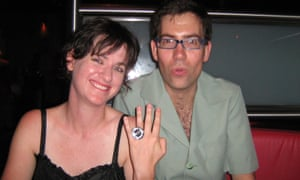 'There are lots of jokes between us that other people don't understand.' Jeska Rees and Simon Wilson in December 2007.