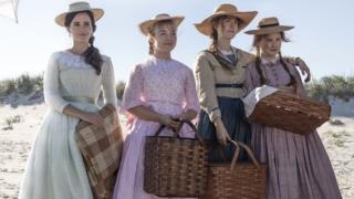 Emma Watson, Florence Pugh, Saoirse Ronan and Eliza Scanlen in Little Women