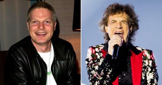Steve Bing pictured alongside Mick Jagger