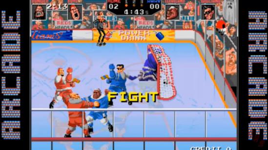 Hit the Ice Arcade version