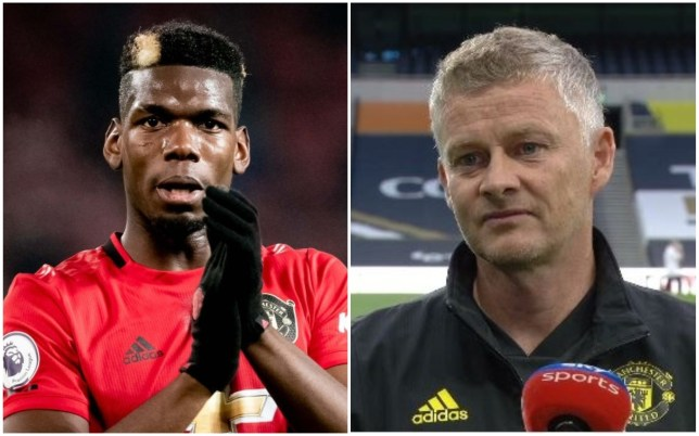 Ole Gunnar Solskjaer has benched Paul Pogba for Manchester United's clash with Spurs