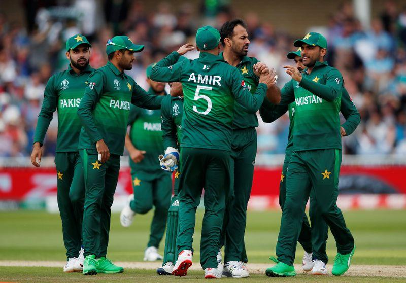 © Reuters. ICC Cricket World Cup - England v Pakistan