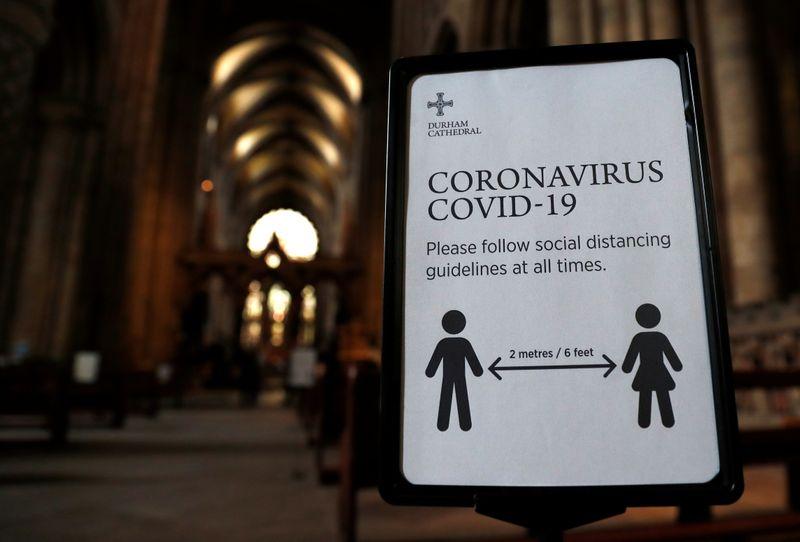 © Reuters. Outbreak of the coronavirus disease (COVID-19), in Durham