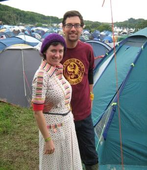 Jeska Rees and Simon Wilson  in 2008.