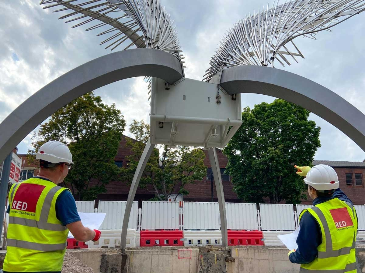 RED CONSTRUCTION APPOINTED TO COMPLETE ANGEL CENTRAL TRANSFORMATION