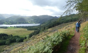 Heading down to Aira Force.