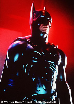 Classic: Val Kilmer in 1995's Batman Forever, directed by Schumacher